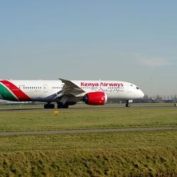 Plane Kenya Airways