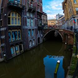 Utrecht op nieuwjaarsdag