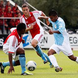 Slalom door de verdediging van de Ajax B1