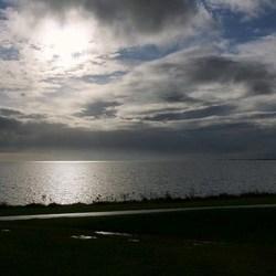 wolken Markermeer
