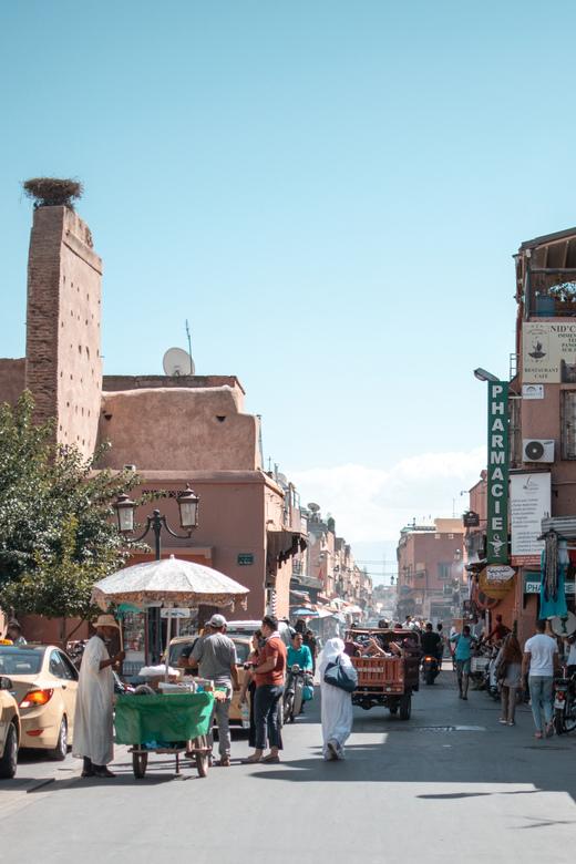 Straten van Marrakech -