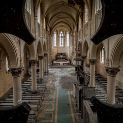 Verlaten kerk