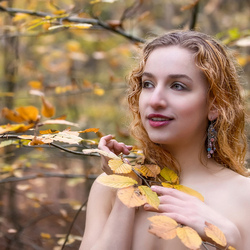 Talitha in autumn