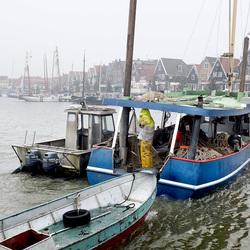 Koud in Volendam
