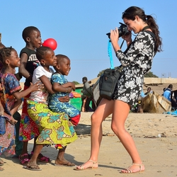 Fotograferen is een feestje in Gambia