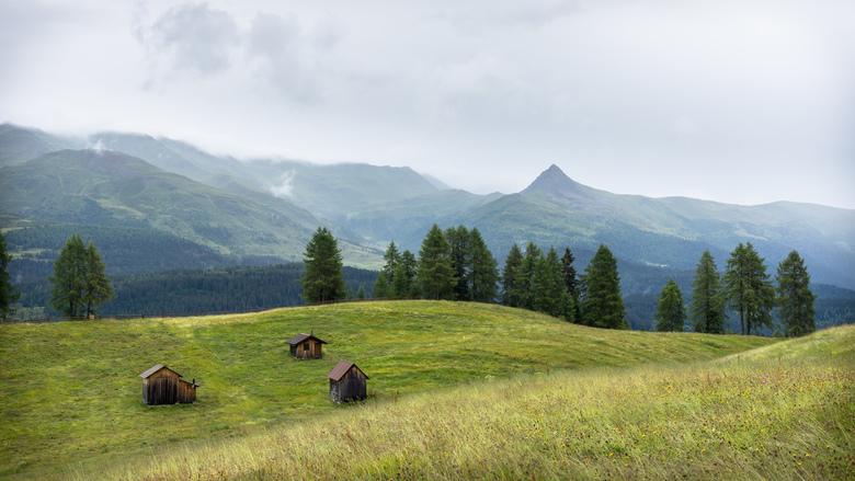 """Dolomieten 2 - Uitzicht vanaf de Rotwandwiesen nabij Sexten na een regenbui.<br /> <br /> <a href=""""http://willemkoopsphotography.com""""> the world in"""