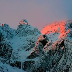 Roze berg