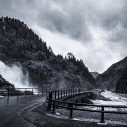 Latefossen, Noorwegen