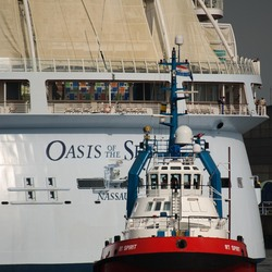 sleper met Oasis of the Seas
