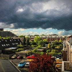 Regen en zonneschijn.