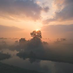 Een vroege ochtend in het Oosten van het land!