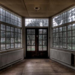 leven in een glazen huisje