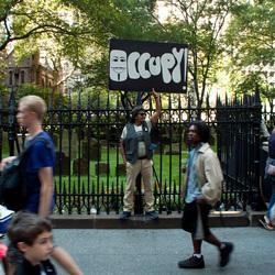 Protestatie in New York