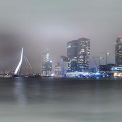 Rotterdam in de mist 9 panorama