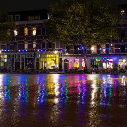Shiny streets of Rotterdam
