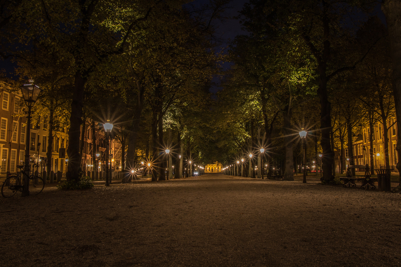 The Hague by Night, Lange Voorhout - The Hague by Night, Lange Voorhout