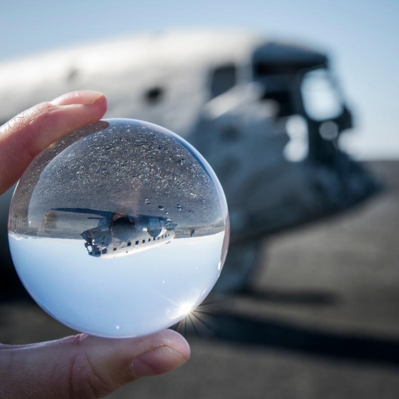 Vliegtuigwrak IJsland - Vliegtuigwrak IJsland maar dan een keer iets anders
