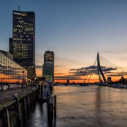 Sunset @ Rotterdam 16-10-2020