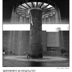 Waterpret in Mexico-City