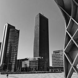 Vienna center buildings
