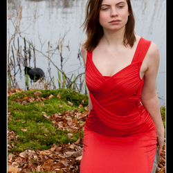 Kirsten - Red dress