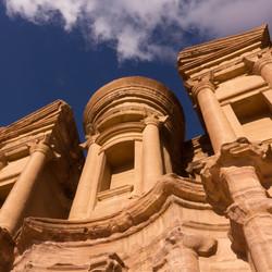 monastery - Petra Jordanië
