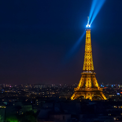 Nachtelijk Parijs
