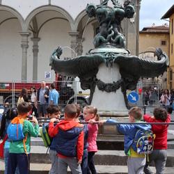 Schooluitstapje in Firenze