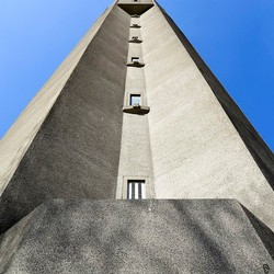 Watertoren van Radio Kootwijk