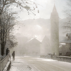 Winter in de Dolomieten