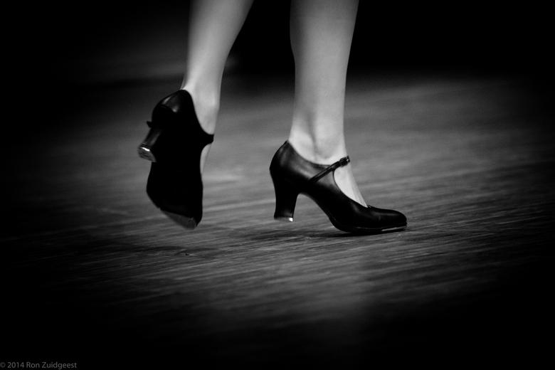 De tap-danseres
