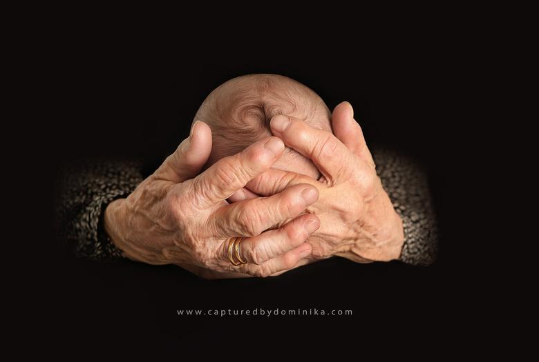 in de handen van z'n grootmoeder - in de handen van z'n grootmoeder