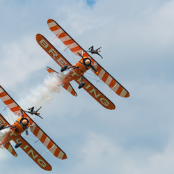 Breitling WingWalkers  Oostwold Airshow