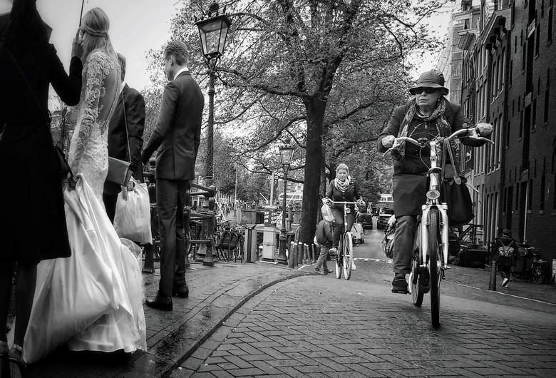 Fietsen in Amsterdam -