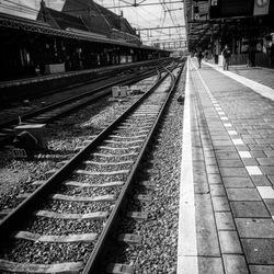 Trein spoor Roosendaal