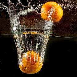 sinaasappelsplash