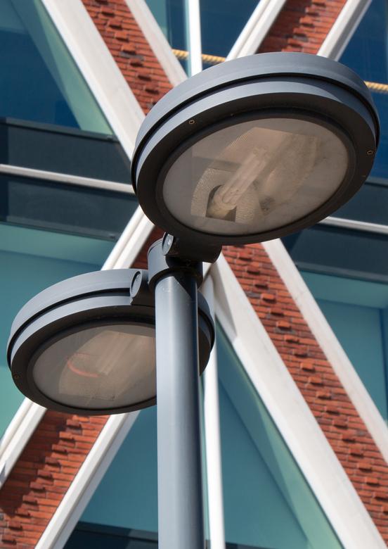 Lights  - Geinspireerd door foto's van Henk deze foto gemaakt bij het Huis van de Stad in Gouda