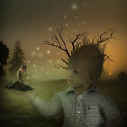 Kinderen fantasiewereld