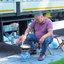 Turkse chauffeur in Enkhuizen