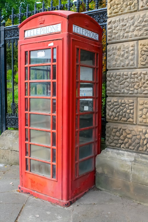 telephone - Een originele telefooncel in Engeland