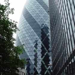 The Gherkin / Swiss RE Tower in London