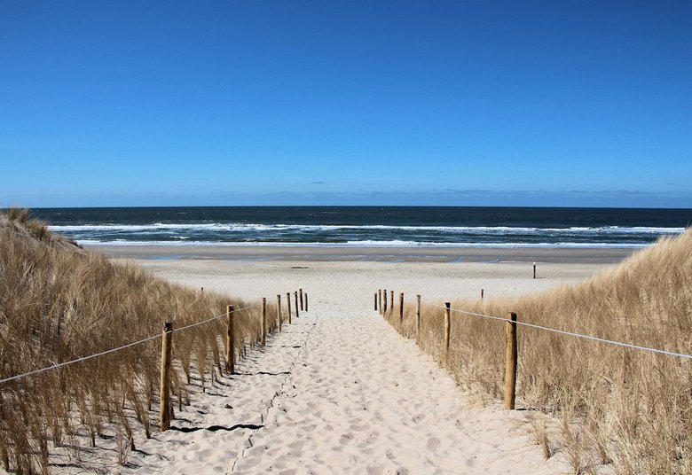 Gewoon genieten.... - Na een heerlijke strandwandeling loop je richting Hotel. Je kijkt een keer achterom en dan zie je dit..... Prachtig toch?
