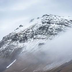 Bergtop Vik IJsland