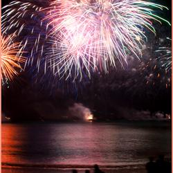 Vuurwerk Cannes