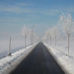 Winterse weg