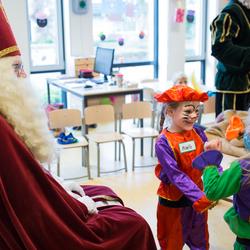 Dansen voor Sinterklaas