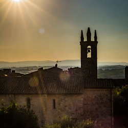 Sundown @ Monteriggioni