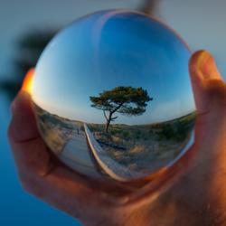 Kijk eens in de glazen bol
