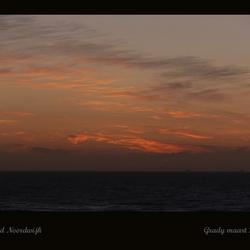 zonsondergang Noordwijk