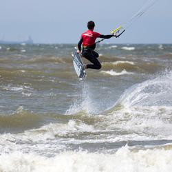 Kitesurf sprong